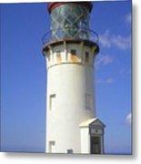 Kilaueau Lighthouse Metal Print