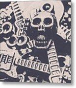Kill The Music Industry Metal Print