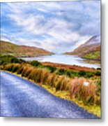 Killary Fjord In Ireland's Connemara Metal Print by Mark E Tisdale