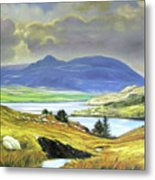 Killary Harbour County Mayo Metal Print