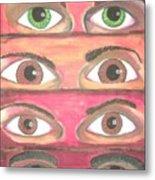 Killer Eyes Metal Print