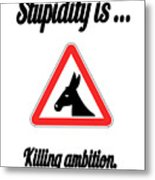 Killing Bigstock Donkey 171252860 Metal Print