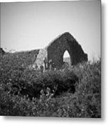 Kilmanaheen Church Ruins Ennistymon Ireland Metal Print