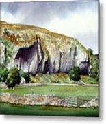 Kilnsey Crag Metal Print