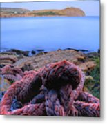 Kimmeridge Bay In Dorset Metal Print