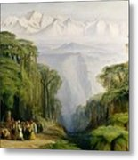 Kinchinjunga From Darjeeling Metal Print