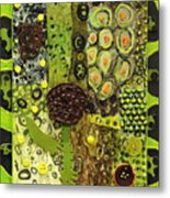 Kinetic Seeds I Metal Print
