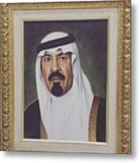 King Abdullah Metal Print