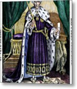 King Andrew The First Metal Print
