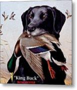 King Buck    1959 Federal Duck Stamp Artwork Metal Print