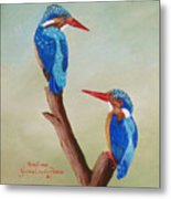 King Fishers Metal Print
