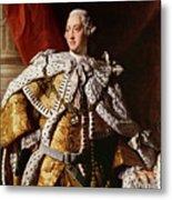 King George IIi Metal Print by Allan Ramsay
