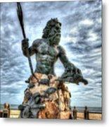 King Neptune Virginia Beach  Metal Print