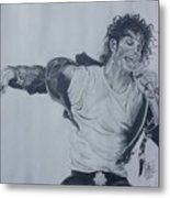 King Of Pop Metal Print