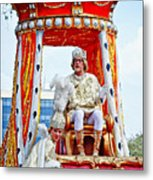 King Of Rex And Page - Mardi Gras New Orleans Metal Print