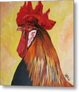 King Of The Orchard Metal Print