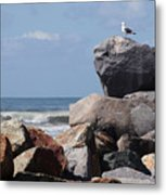 King Of The Rocks Metal Print
