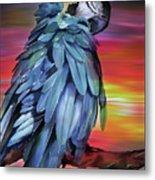 King Parrot 01 Metal Print
