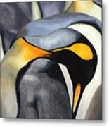King Penquins Metal Print