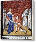 King Philip Iv Of France Metal Print