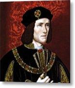 King Richard IIi Of England Metal Print
