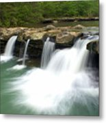 King River Falls Metal Print
