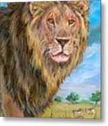 Kingdom Of The Lion Metal Print