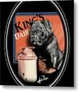 King's Dairy  Metal Print