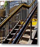 Kings Hwy Subway Station In Brooklyn Metal Print