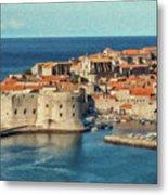 Kings Landing Dubrovnik Croatia - Dwp512798 Metal Print