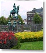 Kings Square Statue Of Christian 5th Metal Print