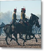Kings Troop Rha Metal Print