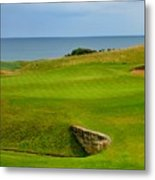 Kingsbarns Golf Links Hole #18 Metal Print