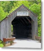 Kingsley Bridge Metal Print