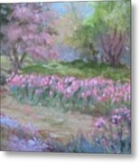 Kingwood Tulips Metal Print
