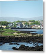 Kinvara Seaside Village Galway Ireland Metal Print