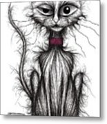Kipper Kitty Metal Print