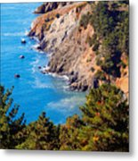 Kirby Cove San Francisco Bay California Metal Print