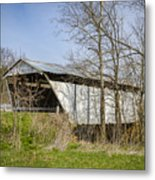 Kirker Covered Bridge  Metal Print