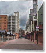 Kirkgate Market Metal Print