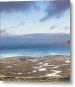 Kirkjufell And Grundarfjordur From On High Metal Print