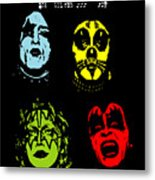 Kiss No.02 Metal Print by Caio Caldas