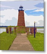 Kissimmee Lighthouse Metal Print