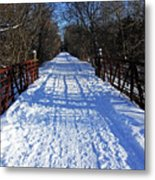 Kissing Bridge Trail Metal Print