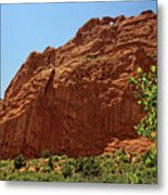 Kissing Camels At The Garden Of The Gods Metal Print