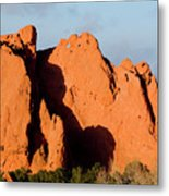 Kissing Camels Formation At Garden Of The Gods Metal Print