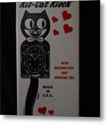 Kit Cat Klock Metal Print