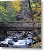 Kitchen Creek Bridge Metal Print