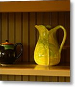 Kitchen Cupboard Metal Print