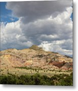 Kitchen Mesa Panorama Metal Print